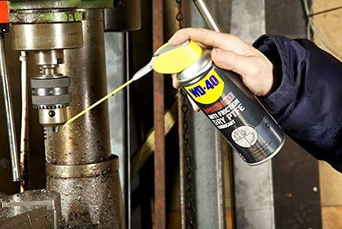 WD-40 44395 Specialist Anti-Friction Dry PTFE Lubricant Spray 400ml Can